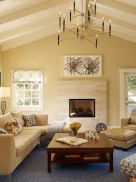 Exposed Beam Ceiling Living Room by Photos Hgtv Eclectic Yellow Bedroom With Exposed Beam Ceiling Idolza