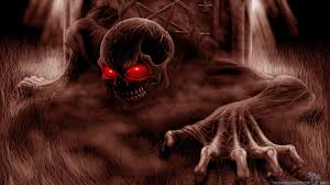 evil from underground scary halloween wallpapers scary wallpapers