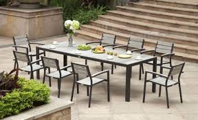 Black Wrought Iron Patio Furniture Sets by Patio 34 Outdoor Patio Dining Sets 9 Piece Patio Dining Set