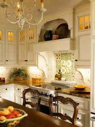 French Country Kitchen Cabinets Photos Kitchen Style All White Cabinets Chrome Handles French Country