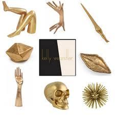 my style republic bronze decor objects from kelly wearstler