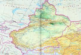 Fuzhou China Map by Xinjiang Map Map Of Xinjiang Uygur Autonomous Regiont China