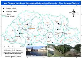 Hydrology Map Bhutan Geospatial Portal