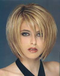 cool ideas for short thin hair and round faces many women with