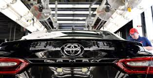 toyota motor car 2018 toyota camry production begins in kentucky the drive