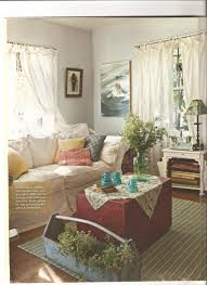 Country Living Room Curtains Country Cottage Style Living Rooms Artist Lynn Hanson U0027s Little
