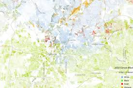 Seattle Demographics Map by How Segregated Is Atlanta This Race Map Reveals The Truth
