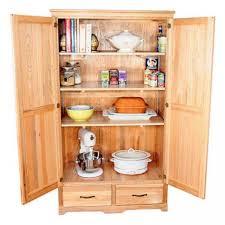 Furniture Kitchen Cabinet Oak Kitchen Pantry Storage Cabinet Home Furniture Design Kitchen