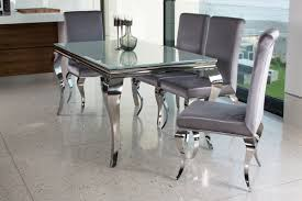 louis silver dining table 2000