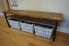 Rustic Wooden Bench With Storage Bench Rustic Entryway Bench With Storage For Stunning Rustic