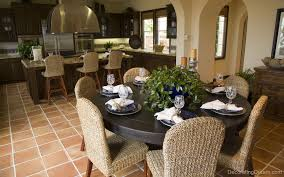 enhancing dining room furniture with white modern kitchen tables