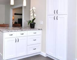 Kitchen Cabinet Quotes Pantry Cabinets Quotes Linen Cabinet Ice White Shaker White