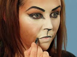 images of halloween makeup for a cat how to perfect the cheshire