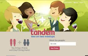 Tandem  The Online Dating Site That Helps Wingmen Pair Their