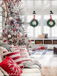 40 cozy and cheerful homes decorated for a snowy christmas