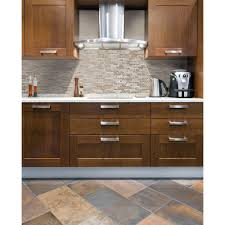 Smart Tiles Bellagio Sabbia  In W X  In H Peel And - Peel on backsplash