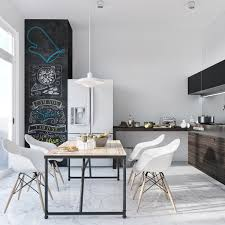 Black And White Dining Room Chairs Dining Rooms That Mix Classic And Ultra Modern Decor