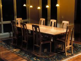 fiddleback maple dining table and chairs u2014 craig vandall stevens