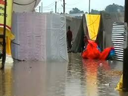 heavy rain kumbh