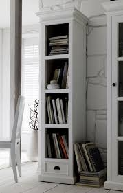 White Bookcase With Drawers by Tall Narrow Bookcase With Drawers Roselawnlutheran