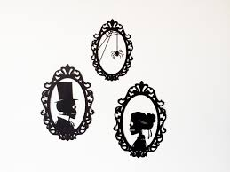 halloween skeletons decorations diy skeleton silhouettes halloween silhouettes halloween frames