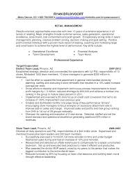 Sample Resume For Retail Manager by Customer Sample Customer Service Manager Resume