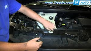 how to install replace ac heater fan blower motor 1997 2013 chevy