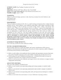 sample resume of teacher applicant sample resume for paraprofessional position free resume example paraprofessional tutor cover letter sample of apology letter to paraprofessional resume templates resume template builder within