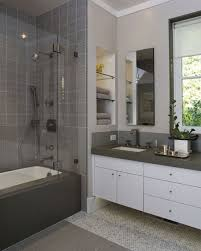 attractive kitchen interior design idea with best interior paint wonderful white vanity and grey top beside closed tub and shower space for small bathroom remodel enticing interior design