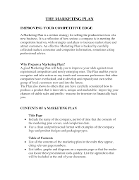 Starting A Business Plan Template Sample Business Plan For A New Product