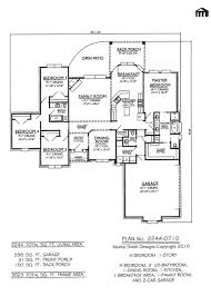 One Level House Plans With Basement 100 House Plans One Story With Basement Bedroom Dgg943 Lvl1
