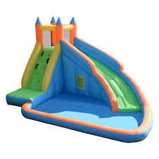 halloween bounce house costway inflatable water slide mighty bounce house jumper castle