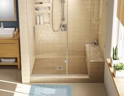 bathroom sophisticated corner shower stall kits for enjoyable