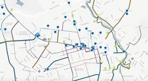 Uga Campus Map Building Momentum Athens In Motion Bike And Pedestrian Master