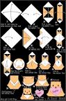 origami Heart Bea en.origami-club.com