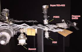 soyuz tma 15m departure from iss axm paper space scale models blog
