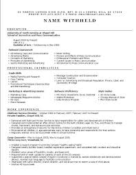 Restaurant Server Resume  free sample resume templates examples     Template net