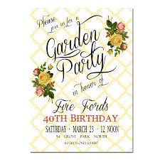 garden party invitation luxury home design fancy at garden party
