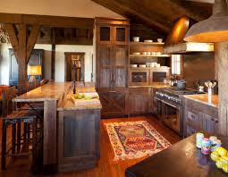 Simple Country Kitchen Designs Rustic Cottage Kitchen Kitchen Of The Week Rustic Cottage In