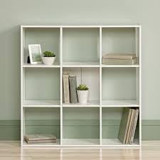 Sauder Black Bookcase by Sauder Organizer Bookcase Soft White Walmart Com