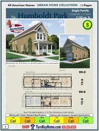 Shop Home Plans Humboldt Park Single Family All American Modular Home Plan Price