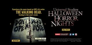 halloween horror nights movie behind the thrills the walking dead will come to life at