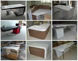 Modern White Office Desks Simple Office Desk Curved Office Furniture Modern White Office