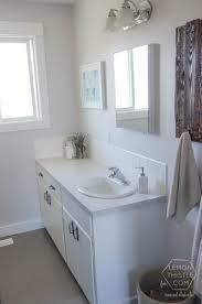 Affordable Bathroom Remodel Ideas Remodelaholic Diy Bathroom Remodel On A Budget And Thoughts On