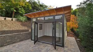 Backyard Office Prefab by Backyard Studio Prefab Outdoor Goods