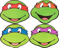 teenage mutant ninja turtles multipack 4 party face masks