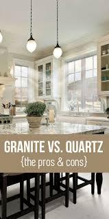 Kitchen Interior Design Pictures Granite Vs Quartz Countertops Learn The Pros And Cons Home