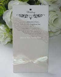 Invitation Card Store Aliexpress Com Buy 50pcs Sale Laser Cut Pearl Ivory Paper