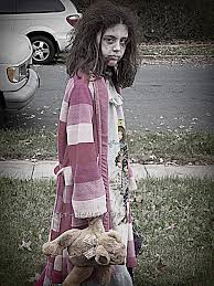 Scary Halloween Costume Girls Scary Homemade Costume Zombie Zombie