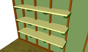 Build Wood Garage Shelves by Garage Shelving Plans Home Design By Larizza